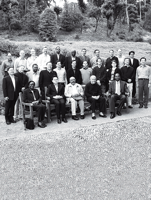 Bellagio Housing Conference participants