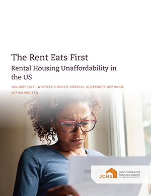 "Cover of the paper ""Rent Eats First."""