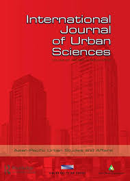 Cover of the International Journal of Urban Sciences.