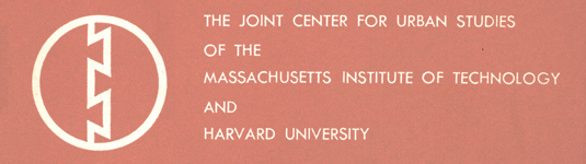 Joint Center for Urban Studies of Harvard and MIT